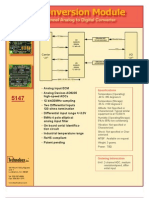 Datasheet ECM 5147 Analog 4pgv1 A80401 Press