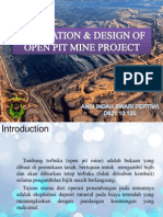 Evaluation & Design of Open Pit Mine Project