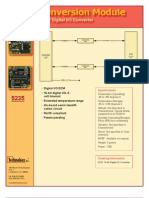 Datasheet ECM 5235 Digital 4pgv1 A80401 Press
