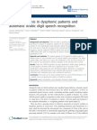 Application of Automatic Speaker Recognition Techniques to Pathological Voice Assessment