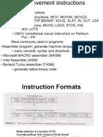 module2.3Data movement instructions
