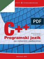 US - Programski jezik C++ sa rešenim zadacima