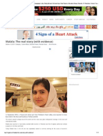 Malala the Real Story With Evidence
