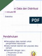 Penyajian Data Dan Distribusi Frekuensi