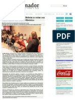 07-07-2014 Alcaldesa Esthela Ponce Beltrán se reúne con comerciantes del Centro Histórico