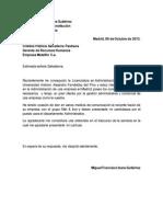 Carta de Autocandidatura