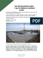 Documento oculto sobre fracking