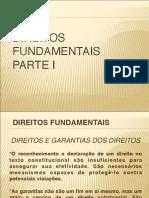 Direitos Fundamentais (Direitos e Garantias - Dimensões e Características) A parte I do curso (1)
