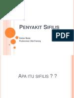 Penyakit Sifilis - PusUKa