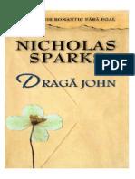 Nicholas Sparks -Draga John