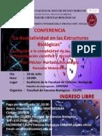 Charla La  Asociatividad en las Estructuras Biológicas 18-07-2014