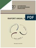 Raport Anual ASF 2013