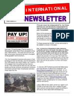 International Newsletter Summer