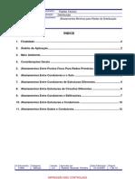 Afastamentos Mínimos Para Redes de Distribuição GED 11836