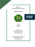 Dokel Demam Tipoid Print