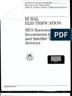 GAO Report - Rural Electrification REA Borrowers' Investments in Cable and Satellite July-1993