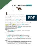 Declaração Fundamental Dos Direitos Dos Animais