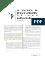 LA EDUCACIÓN EN  DERECHOS HUMANOS- Diseño problematizador.pdf