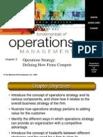 Kuliah 2 - Operation Strategy