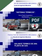 Sistemas Teermicos 2 Plantas de Gas