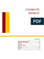 VPV Local Supporter Candidate Booklet Summer 2014