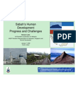 UNDP - Sabah Human Development Statistics