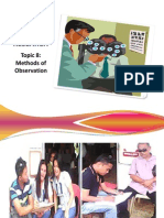 Methods of Research Report