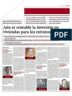 Aún Es Rentable La Inversión en Viviendas Para Estratos C y D_Gestión 7-07-2014