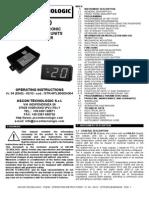 Manual Programacion Neveras MTLB30ENG04