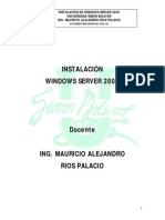 1. Manual de Instalación Windows Server 2008