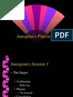 Autogenics Practicum