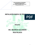 7. Instalación Masiva de Programas