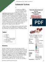 Nintendo Entertainment System – Wikipédia, A Enciclopédia Livre