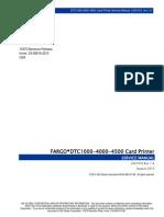 Dtc1000 4000 4500 Card Printer Service Manual l001410 Rev1.4
