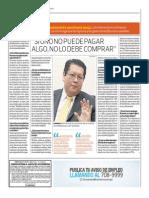 Si No Puedes Pagar Algo, No Debes Comprarlo_El Comercio 7-07-2014