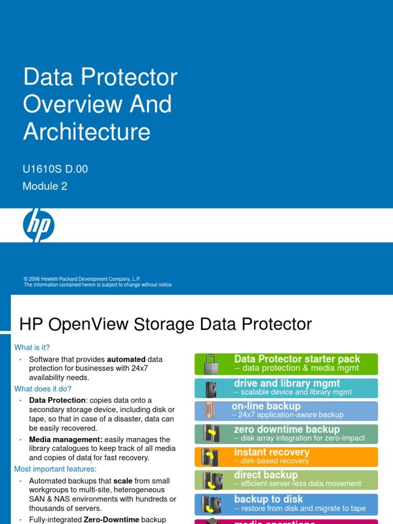 Data protector 2 | Backup | Ibm Notes