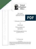 A Bibliography on Sinhala Buddhism