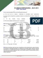 Super Aulo de Lngua Portuguesa 08.01.2014 Jos Maria