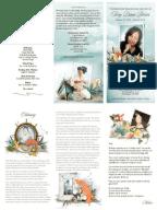 Pepple 50th Birthday Program | Birthdays
