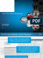 PTC Tech Day - The PTC Value Roadmap - Shoemaker