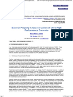 Chapter 4 - Material Property Characterization of Ultra-High Performance Concrete, August 2006 - FHWA-HRT-06-103