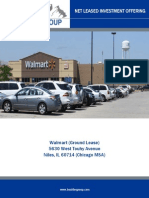 Net Lease Walmart Ground Lease for Sale