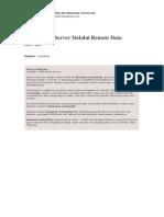 Hacking NT Server Melalui Remote Data Service