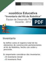 2 a Inventario Kit de Robótica