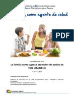 La Familia Como Agente Promotor de Salud