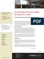 Alvin ISD Employs IP Cameras to Monitor Activities at 13 Schools
