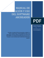 Guia de Instalaci y Uso Del Software ArcReader