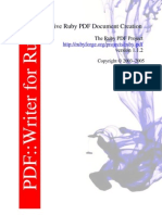 Ruby PDF::Writer manual (pdf)