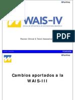 WAIS IV Espana Presentacion