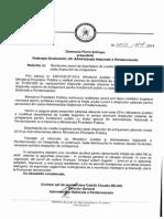 Adresa Restituirea Cererii de Deschidere de Credite Bugetare Pt Plata Dr de Echipament